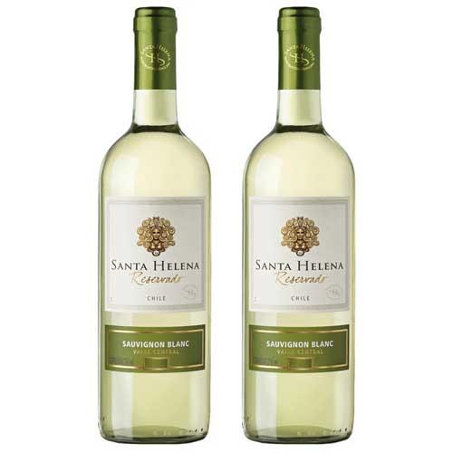 2 Vinhos Santa Helena Sauvignon Blanc Reservado 750ml
