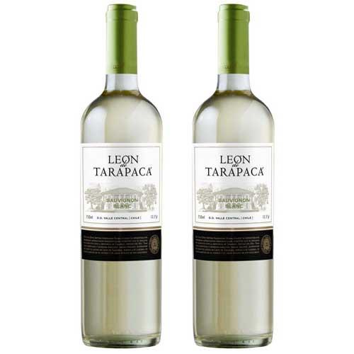 2 Vinhos León de Tarapacá Sauvignon Blanc 750ml
