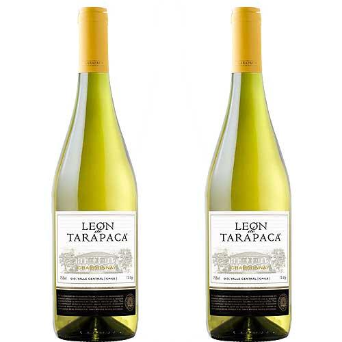 2 Vinhos León de Tarapacá Chardonnay 750ml