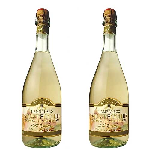 2 Vinhos Lambrusco Montecchio Branco 750ml