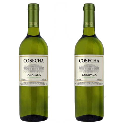 2 Vinhos Cosecha Tarapacá Sauvignon Blanc 750ml