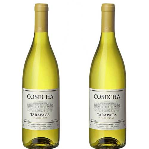 2 Vinhos Cosecha Tarapacá Chardonnay 750ml