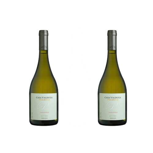 2 Vinhos Casa Valduga Premium Chardonnay 750ml