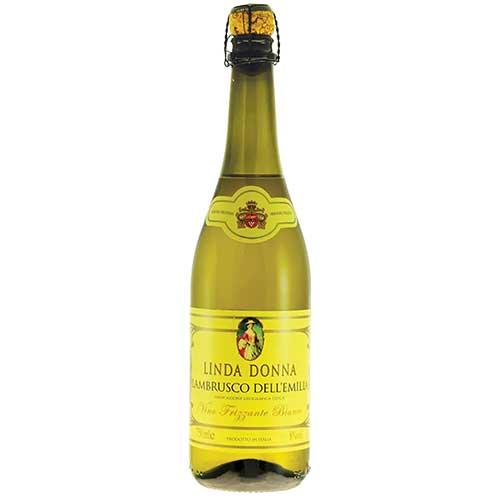 Vinho Lambrusco Linda Donna Frisante Branco 750ml