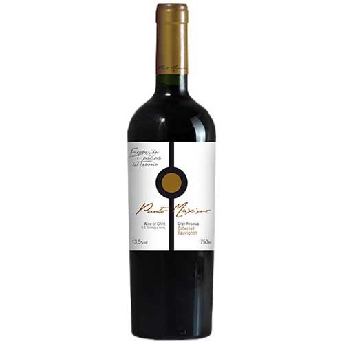 Vinho Punto Máximo Gran Reserva Cabernet Sauvignon 750ml