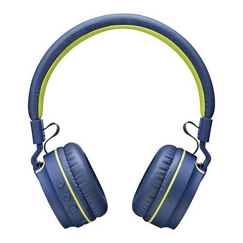 Fone de Ouvido Headphone Bluetooth On Ear Áudio Stereo Azul - Multilaser