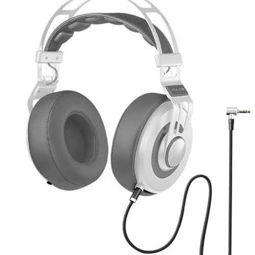 Fone de Ouvido Headphone Premium Wired Large Branco - Multilaser
