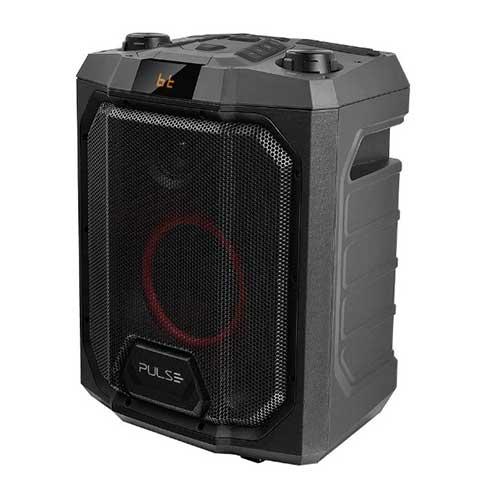 Caixa de Som Bluetooth Party Speaker TWS 200W Pulse Preta - Multilaser