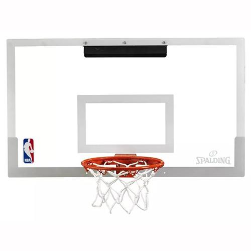 Mini Tabela de Basquete NBA Arena Slam 180° PRO - Spalding