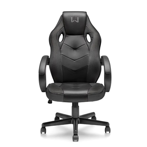 Cadeira Gamer com Função Basculante 15° Warrior Preta - Multilaser