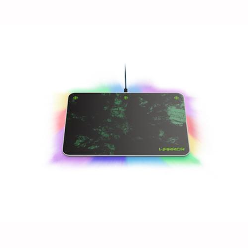 Mouse Pad Gamer com Led Warrior Preto - Multilaser