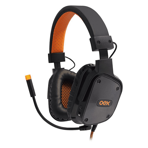 Fone de Ouvido Headset Shield Electra Preto - Oex