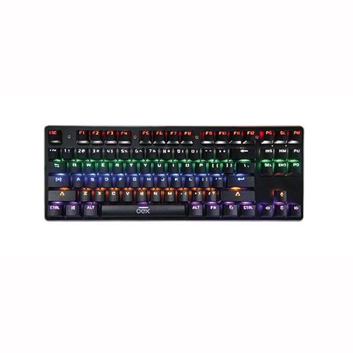 Teclado Spectrum Blackwindow x Ultimate Preto - Oex