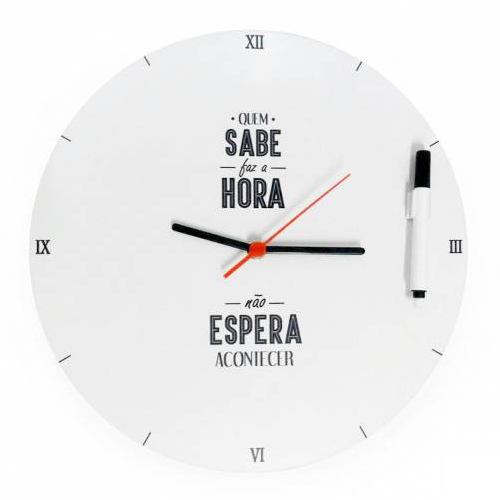 Relógio de Parede Interativo - Kathavento