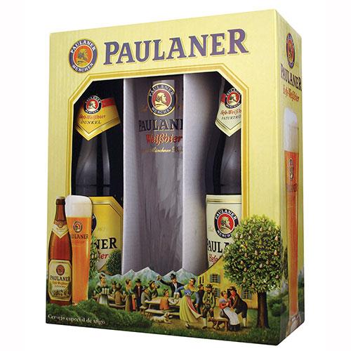 Kit de Cerveja Paulaner 500ml c/ Copo - Paulaner