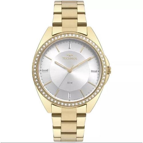 Relógio Feminino Analógico Fashion Trend Elegance com Pulseira e Caixa em Aço - Technos