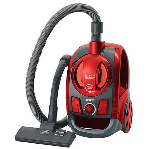 Aspirador de Pó com Função Ciclone de Alta Performance 2000W Vermelho - BlackDecker
