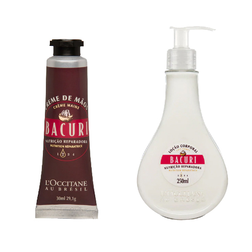 Creme Hidratante para Mãos Bacuri 30ml + Loção Desodorante Corporal Bacuri 250ml - L'Occitane au Brésil