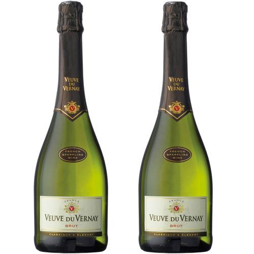 2 Espumantes Veuve Du Vernay Brut 750ml