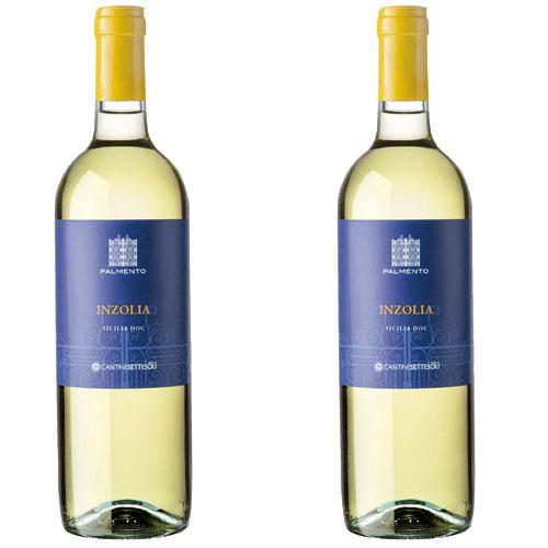 2 Vinhos Palmento Inzolia D.O.C. 750ml