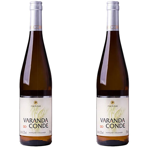 2 Vinhos Alvarinho Varanda do Conde 750ml