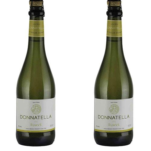 2 Vinhos Frisante Donnatella Branco Suave 660ml