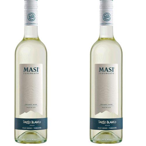 2 Vinhos Masi Tupungato Passo Blanco 750ml
