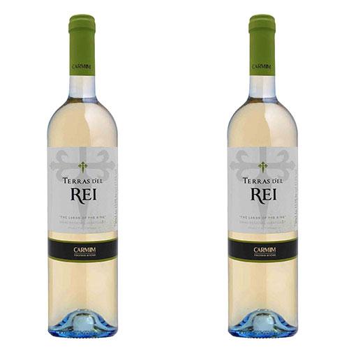 2 Vinhos Terras D'el Rei Alentejano Branco 750ml