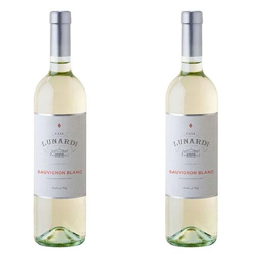 2 Vinhos Lunardi Sauvignon Blanc 750ml
