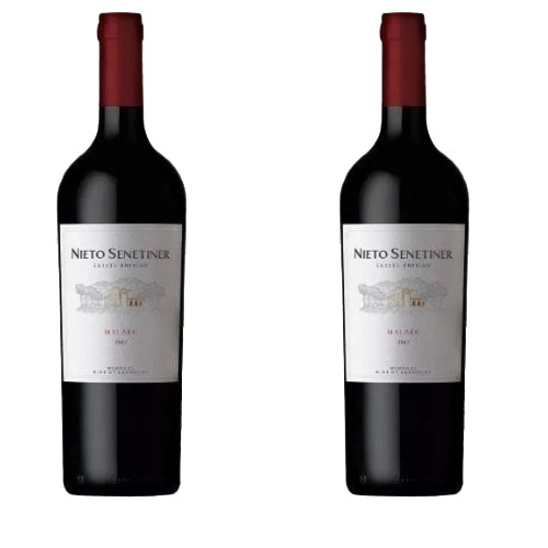 2 Vinhos Nieto Senetiner Reserva Malbec 750ml