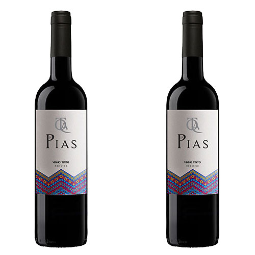 2 Vinhos Quinta Já Pias Tinto 750ml
