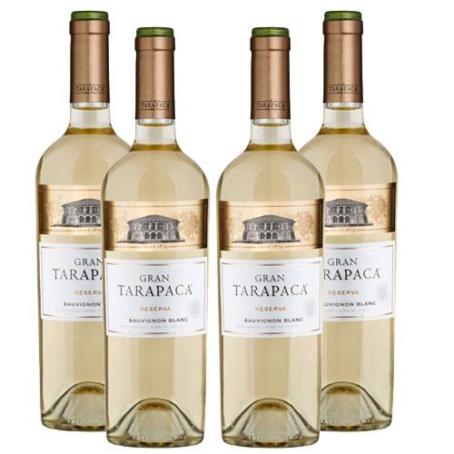 4 Vinhos Gran Tarapacá Reserva Sauvignon Blanc 750ml