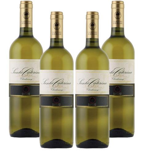 4 Vinhos Santa Caterina Salento Chardonnay I.G.P 750ml