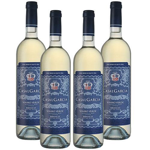 4 Vinhos Casal Garcia Branco 750ml