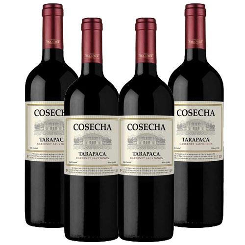 4 Vinhos Cosecha Tarapacá Cabernet Sauvignon 750ml