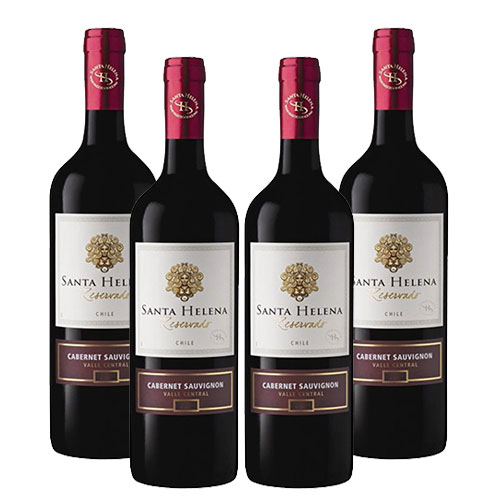 4 Vinhos Santa Helena Cabernet Sauvignon Reservado750ml