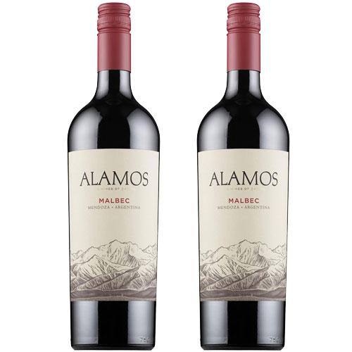 2 Vinhos Alamos Malbec 750ml