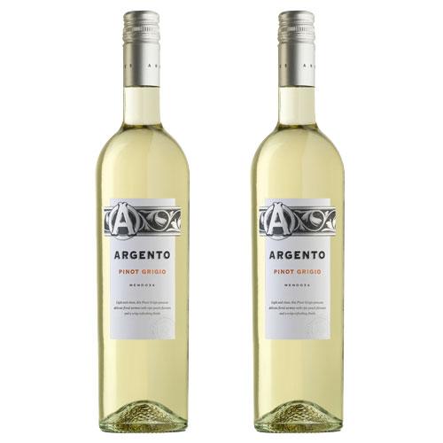 2 Vinhos Argento Pinot Grigio 750ml
