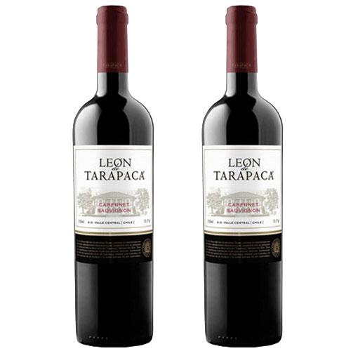 2 Vinhos Leon Tarapacá Carmènere 750ml