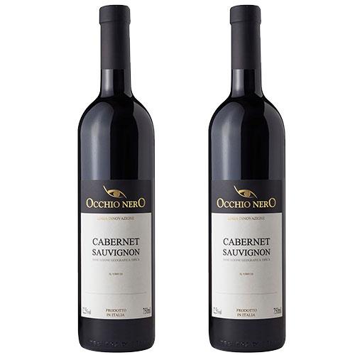 2 Vinhos Occhio Nero Linea Innovazione Cabernet Sauvignon I.G.T. 750ml