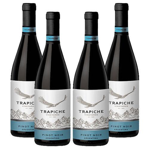 4 Vinhos Trapiche Pinot Noir 750ml