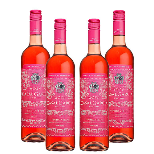 4 Vinhos Casal Garcia Rose 750ml