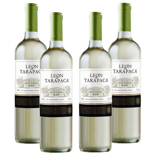 4 Vinhos León de Tarapacá Sauvignon Blanc 750ml