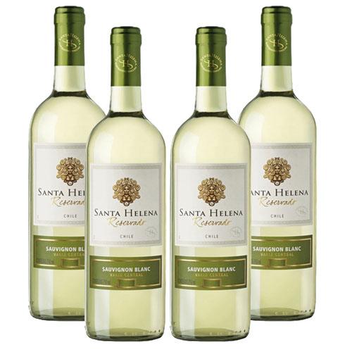 4 Vinhos Santa Helena Sauvignon Blanc Reservado 750ml