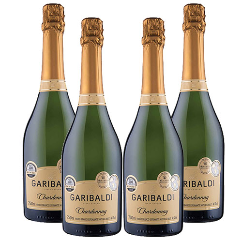 4 Espumantes Garibaldi Chardonnay Brut 750ml