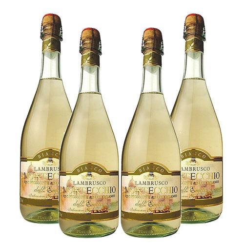 4 Vinhos Lambrusco Montecchio Branco 750ml