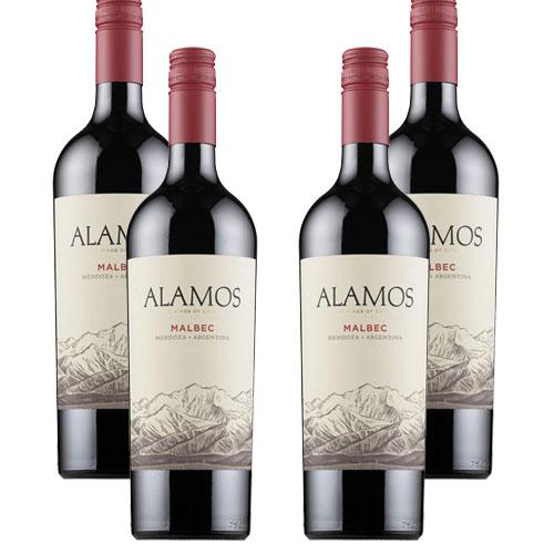 4 Vinhos Alamos Malbec 750ml