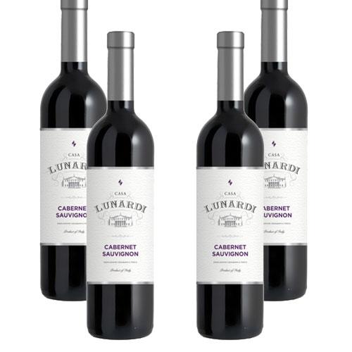 4 Vinhos Lunardi Cabernet Sauvignon 750ml