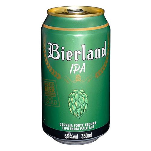 Cerveja Bierland IPA Lata 350ml