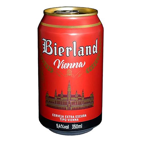 Cerveja Bierland Vienna Lata 350ml